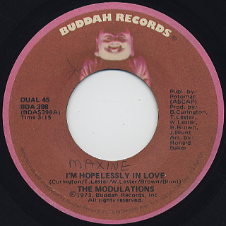 Modulations / I'm Hopelessly In Love c/w What Good Am I