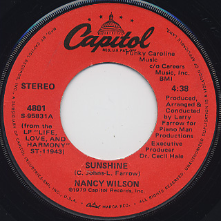 Nancy Wilson / Sunshine (7