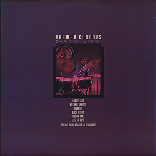 Norman Connors / Dark Of Light back