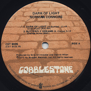 Norman Connors / Dark Of Light label