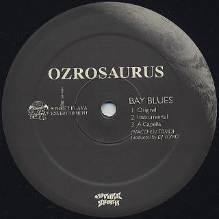 Ozrosaurus / Bay Blue label