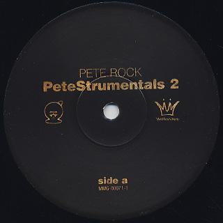 Pete Rock / PeteStrumentals 2 label
