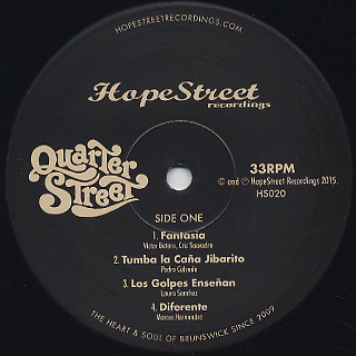 Quarter Street / S.T. label