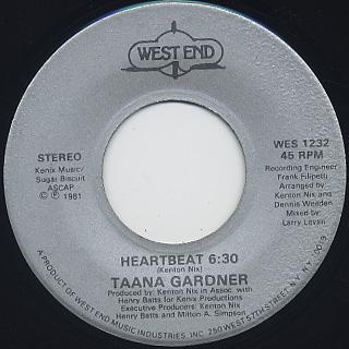 Taana Gardner / Heartbeat (45)