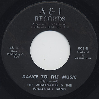 Whatnauts & The Whatnaut Band / Message From A Black Man back