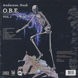 Anderson .Paak / O.B.E. vol.1 back