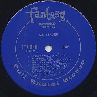 Cal Tjader / Tjader label