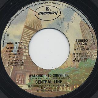 Central Line / Walking Into Sunshine