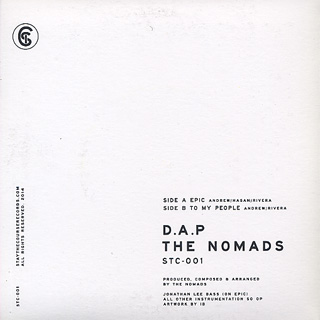 D.A.P. & The Nomads / Epic c/w To My People back