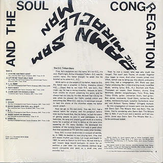 Damn Sam The Miracle Man And The Soul Congregation / S.T. back