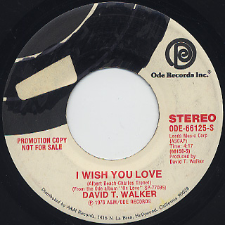 David T. Walker / I Wish You Love (7