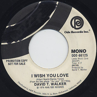 David T. Walker / I Wish You Love (7
