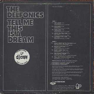 Delfonics / Tell Me This Is A Dream back