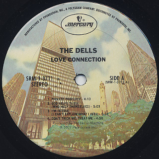Dells / Love Connection label