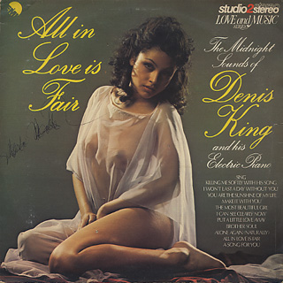 Denis King and His Electric Piano / All In Love Is Fair