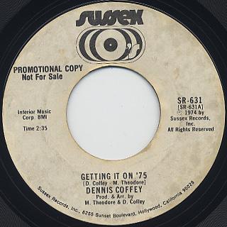 Dennis Coffey / Getting It On '75