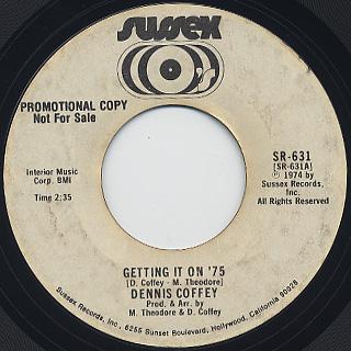 Dennis Coffey / Getting It On '75 back