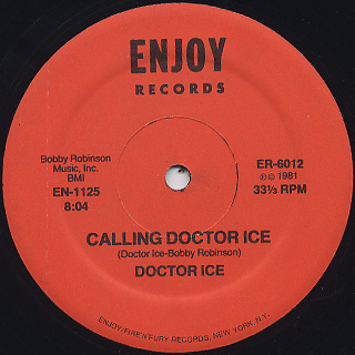 Doctor Ice / Calling Doctor Ice back