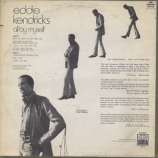 Eddie Kendricks / All By Myself back