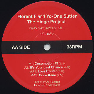 Florent and Yo-One Sutter / The Hinge Project