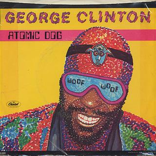 George Clinton / Atomic Dog (7w/Jacket) back