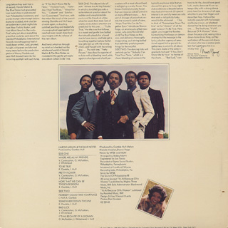 Harold Melvin & The Blue Notes / To Be True back
