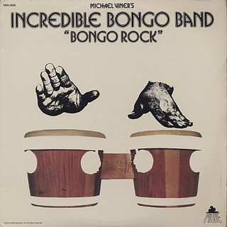 Incredible Bongo Band / Bongo Rock front