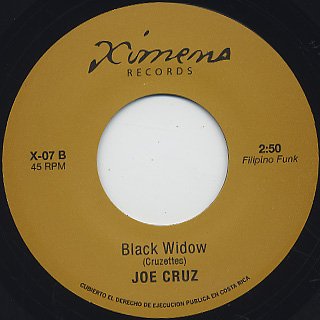 Jennifer Lara / I'm In Love c/w Joe Cruz / Black Widow back