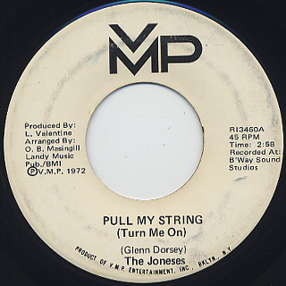 Joneses / Pull My String (Turn Me On)