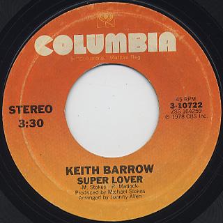 Keith Barrow / You Know You Wanna Be Loved back