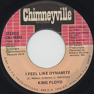 King Floyd / I Feel Like Dynamite