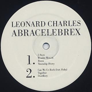 Leonard Charles / Abracelebrex label