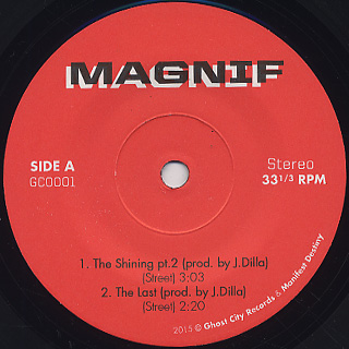 Magnif / The Shining Pt. 2 / The Last label