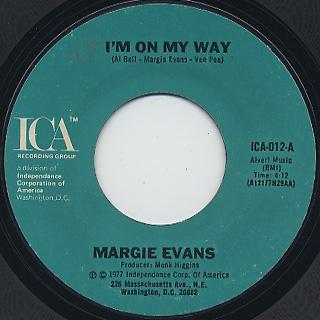 Margie Evans / I'm On My Way