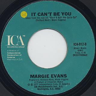 Margie Evans / I'm On My Way back