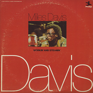 Miles Davis / Workin' And Steamin' front