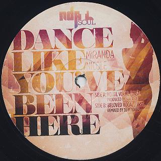 Mirandda Nicole / Dance Like You Been Here back