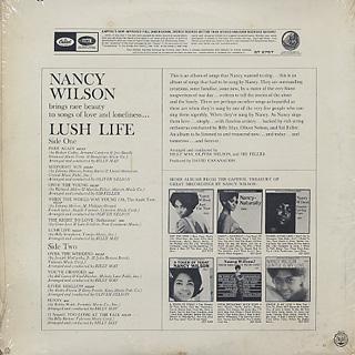 Nancy Wilson / Lush Life back