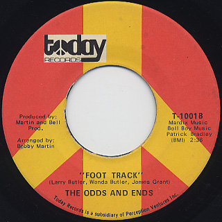 Odds And Ends / Let Me Try c/w Foot Track back