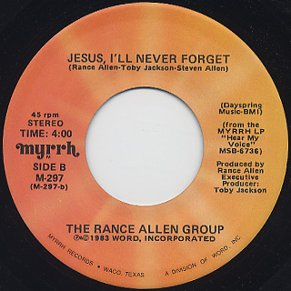 Rance Allen Group / Ceasefire, That Is My Desire back