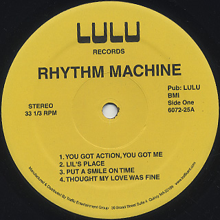 Rhythm Machine / S.T. label