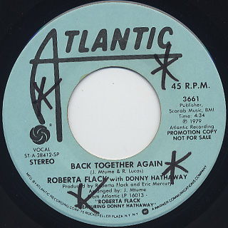 Roberta Flack with Donny Hathaway / Back Together Again