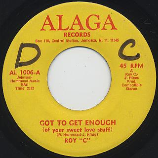 Roy C / Got To Get Enough