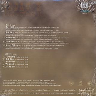 Sadat X / Wild Cowboys II EP back
