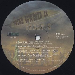Sadat X / Wild Cowboys II EP label