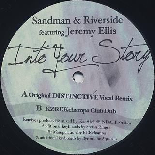 Sandman & Riverside feat. Jeremy Ellis / Into Your Story (Kai Alce Remix)