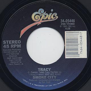 Smoke City / Dreams c/w Tracy back