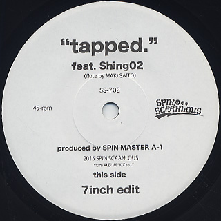 Spin Master A-1 / Tapped label