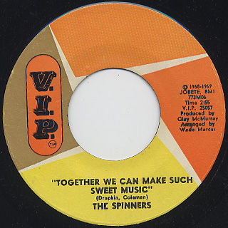 Spinners / It's A Shame back