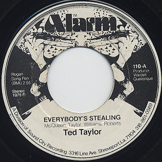 Ted Taylor / Everybody's Stealing